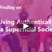 Carly Findlay living authentically