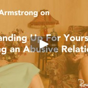 Stand up for yourself - Kerry Armstrong