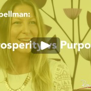prosperity vs purpose